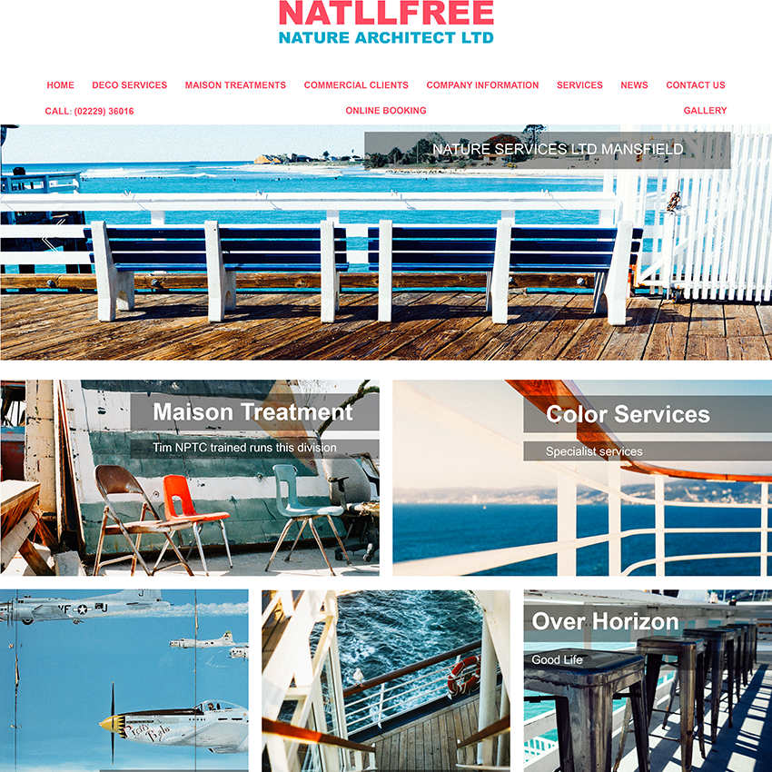 Natllfree Web Design